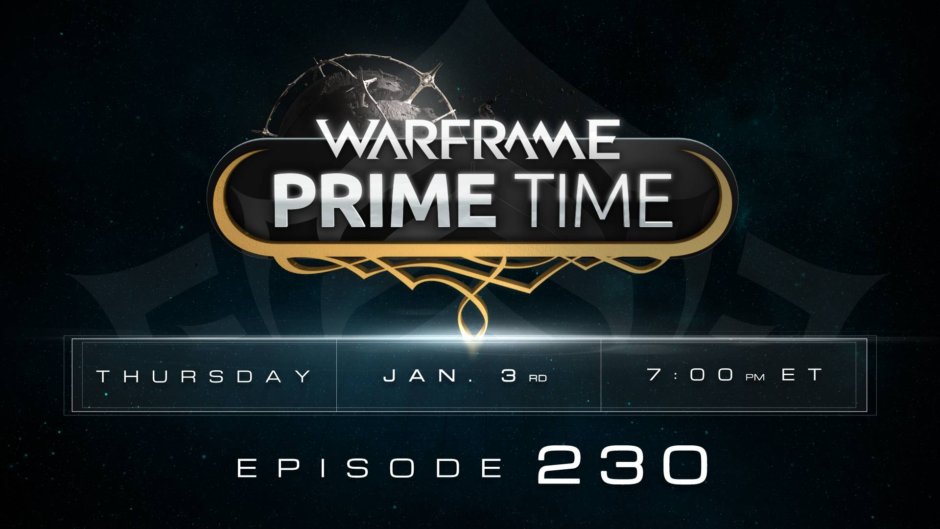 warframe prime time  230  tonight at 7pm et