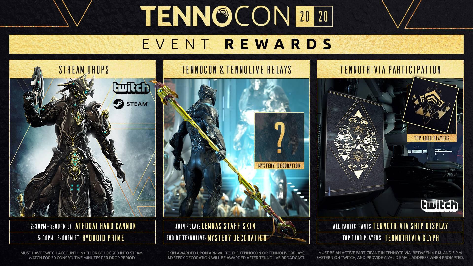 Warframe Прямая трансляция TennoCon 2020