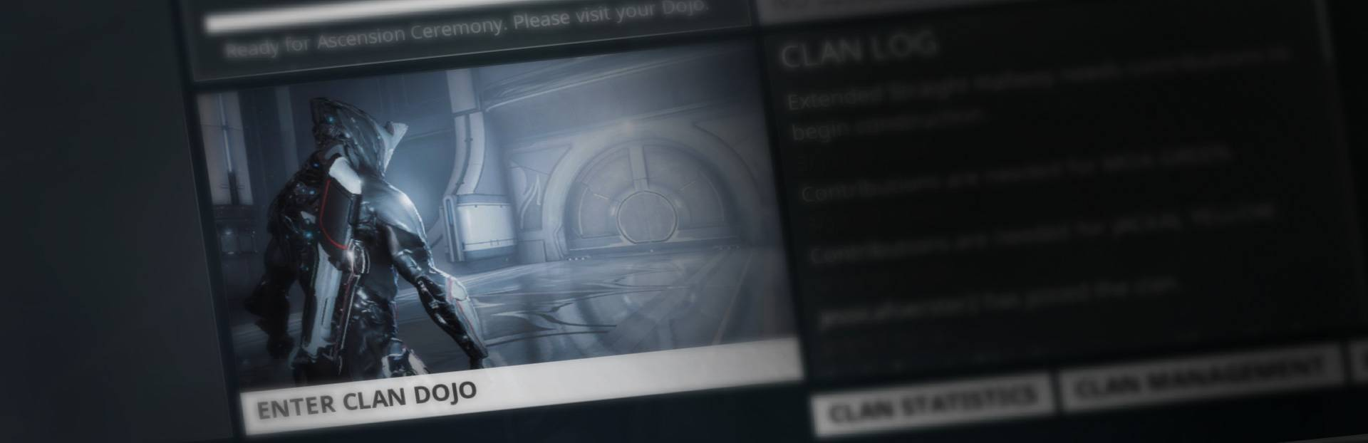 how to leave warframe clan