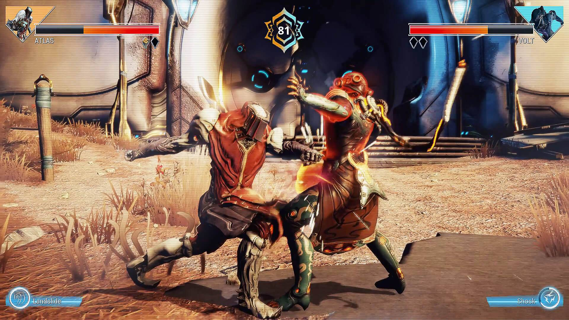 Warframe Adds Free Street Fighter-Style Fighting Game Mode - IGN