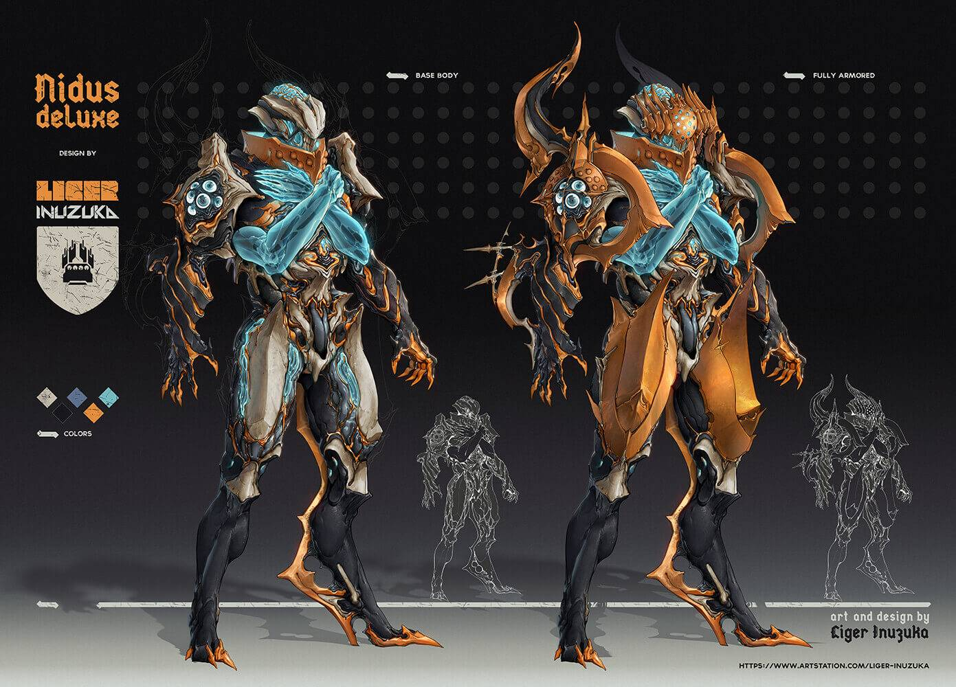 Nidus Deluxe Skin Info Page 3 General Discussion Warframe Forums